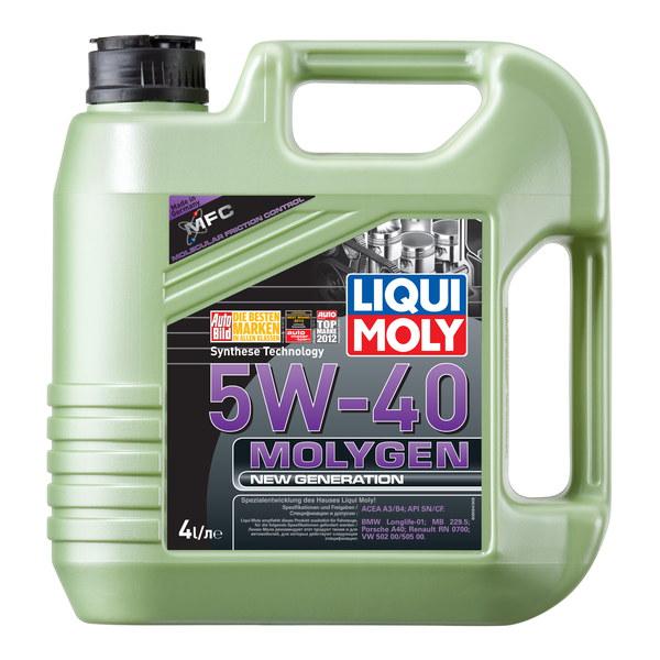 Molygen New Generation 5W-40 - LIQUI MOLY НС-синтетическое моторное масло