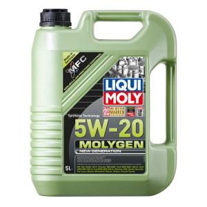 LIQUI MOLY Molygen New Generation 5W-20 (5л) — инновационное моторное масло