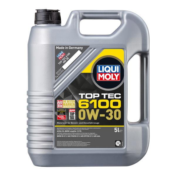 Top Tec 6100 0W-30 — энергосберегающее моторное масло для двигателей BMW