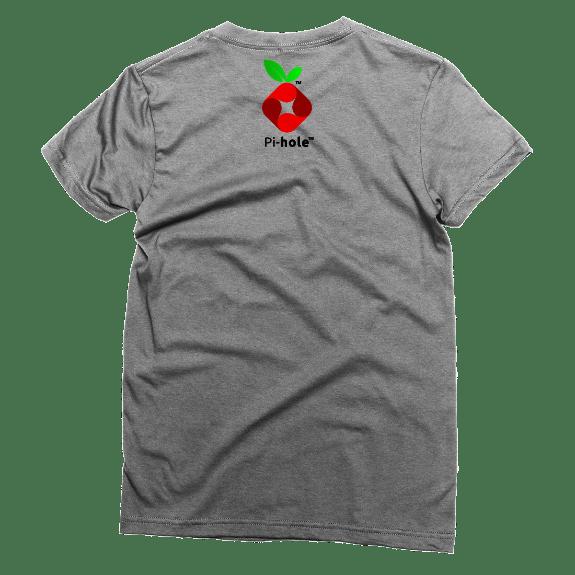 Pi-hole Black Hole Unisex T-Shirt By AWDis – XS