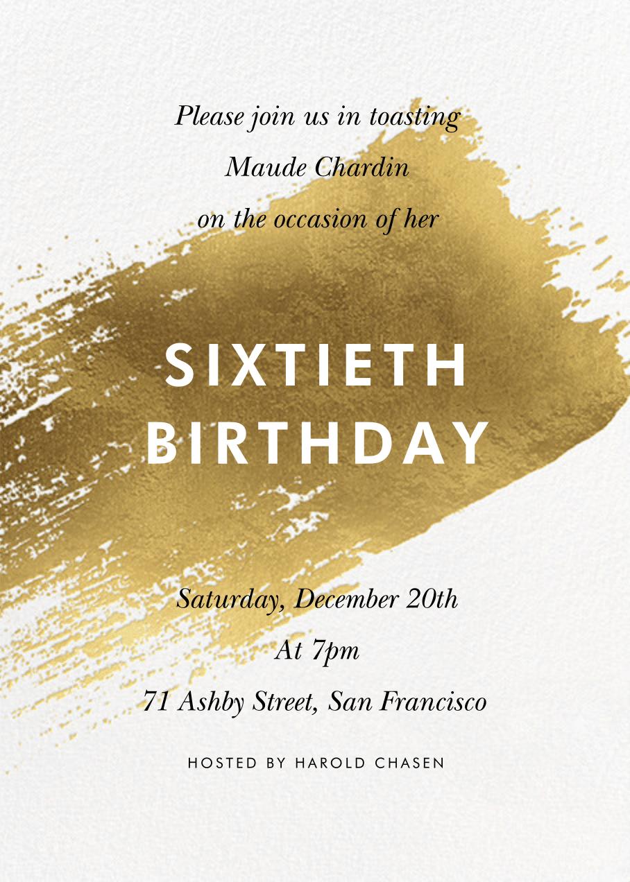 adult birthday invitations send