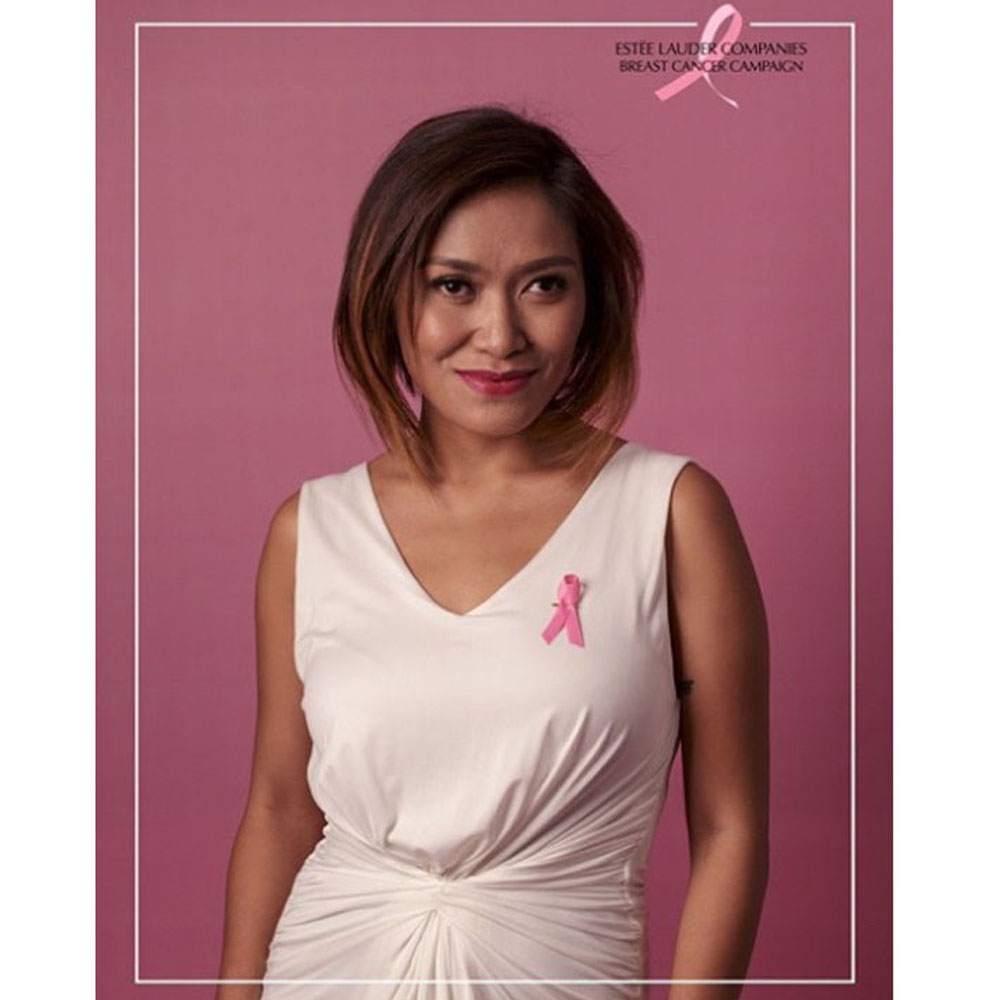 PGP as part of estee lauder breast cancer campaign