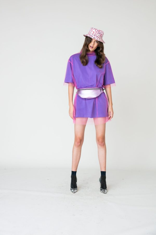 purple look 03- t-shirt