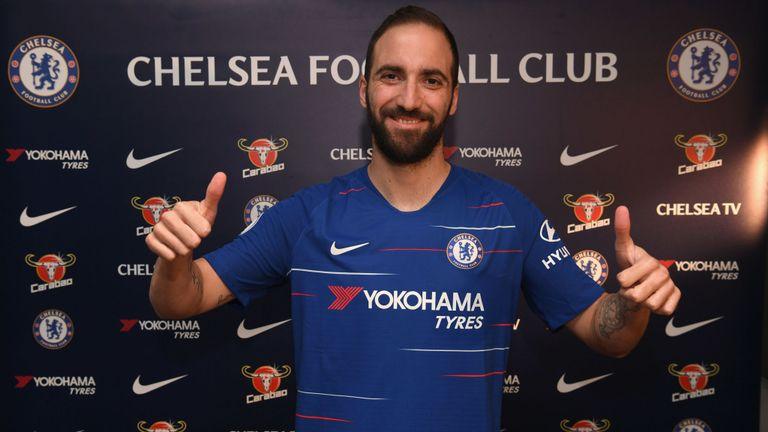 Higuain Diragukan di Chelsea