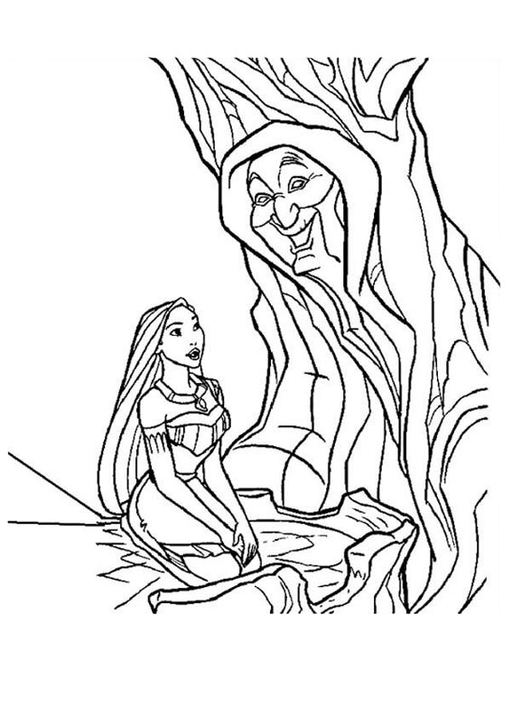 30 Disegni Di Pocahontas Da Stampare E Colorare