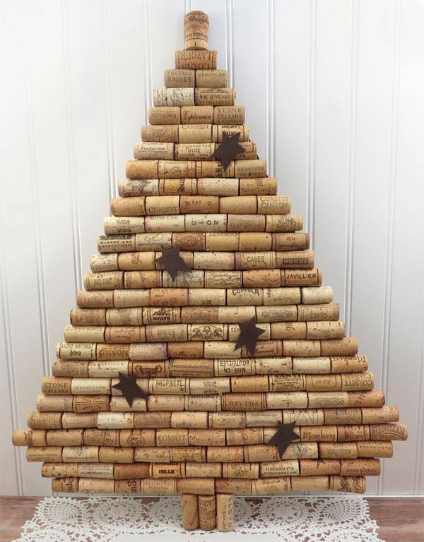 20 Alberi Di Natale Con Tappi Di Sughero Pianetabambiniit