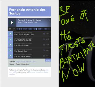 listen firsts - Fernando Antonio dos santos new music