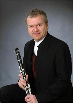 Clarinettist Michael Collins