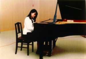 ピアノ学生時代