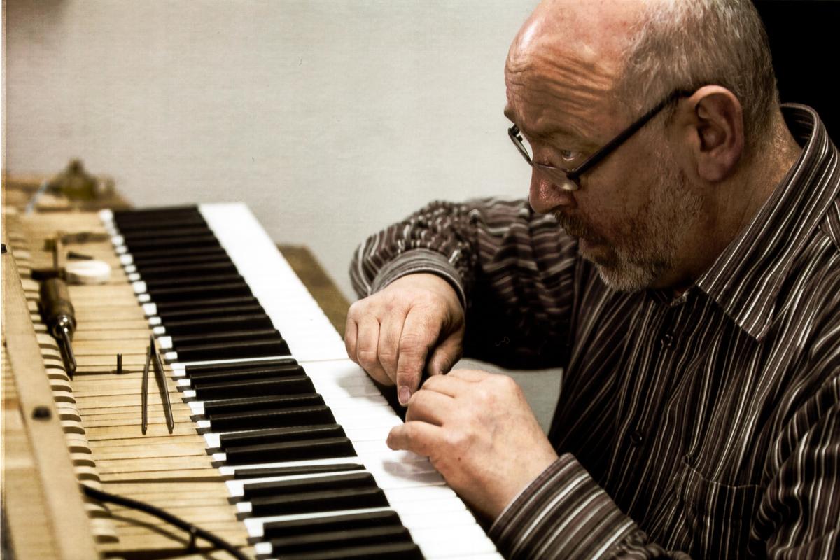 Klavierbauer Albert Sinner