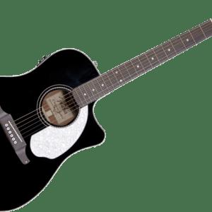 fender guitare electo acoustique serie sonoran sce black maroc piano.ma  - Guitare Folk électro-acoustique Fender Sonoran SCE