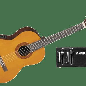 yamaha cx40 classical guitar piano.ma  - Guitare electro Classique Yamaha CX40