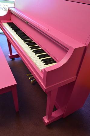 1975 Pink Yamaha Studio Piano