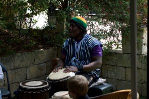 Moses on Drums