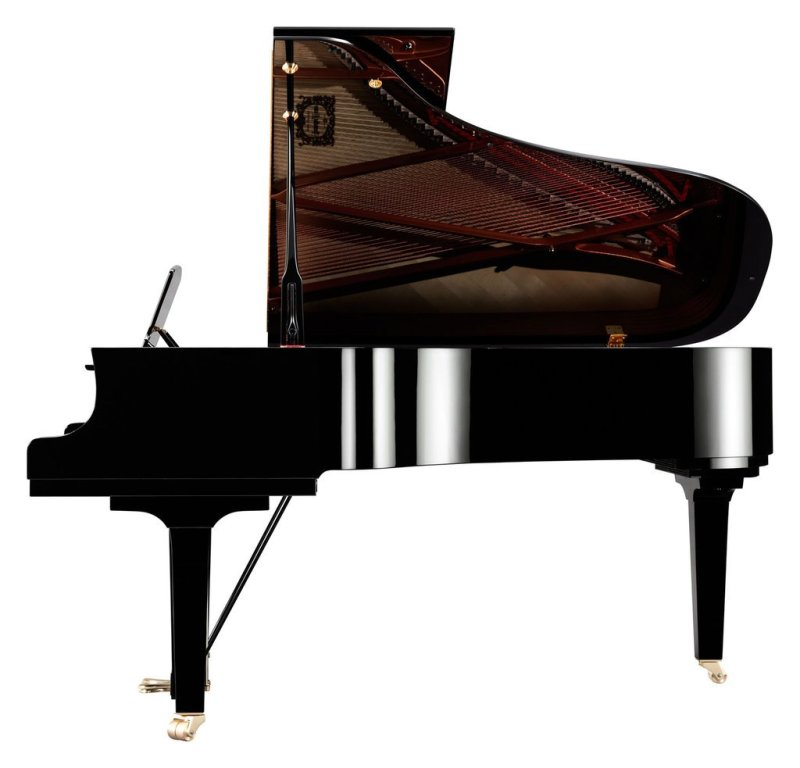 The Yamaha C5X Concert Grand - Side View