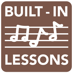 Built-In Lessons