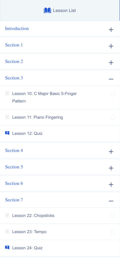 A look at some of the lessons