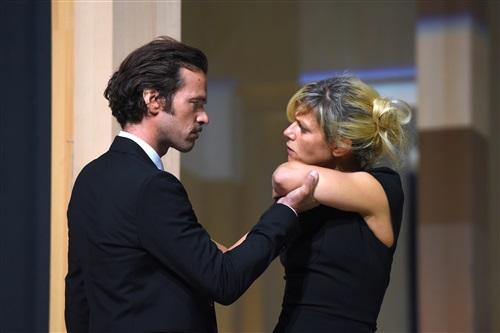 Démons Dario Fo Théâtre du Rond-Point Romain Duris et Marina Foïs