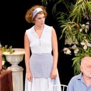 Le jeu de l'amour et du hasard, Salomé Villiers, Marivaux, Compagnie la Boite aux lettres, Théâtre mIchel, Pianopanier