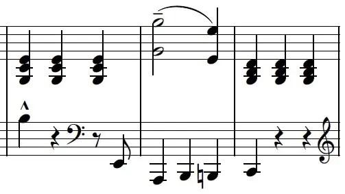 Love Like You Piano Sheet Music Example