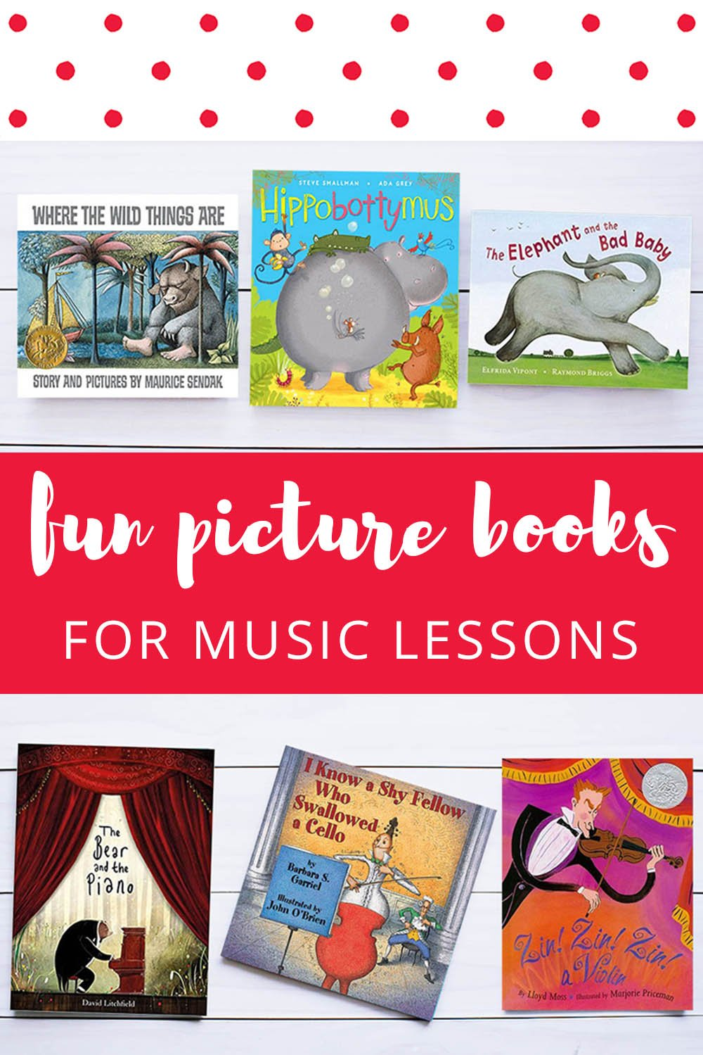 Fun Picture Books For Music Lessons