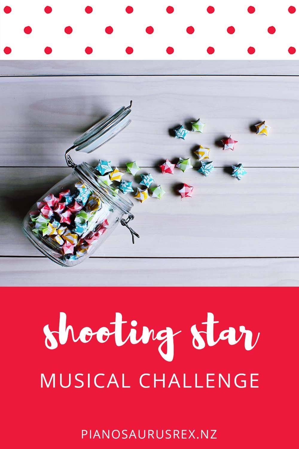 Shooting Star Musical Challenge