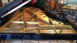 restauración de piano