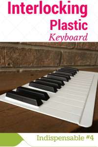 Interlocking Plastic Keyboard