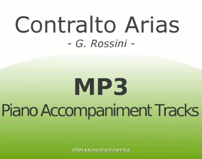 Contralto Arias by Rossini
