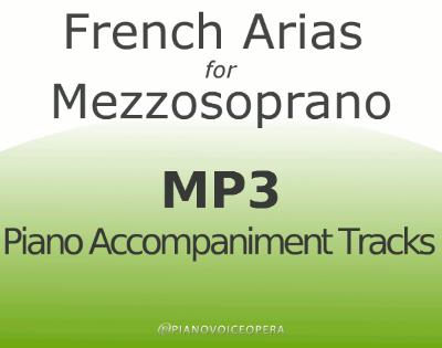 French Arias for Mezzosoprano
