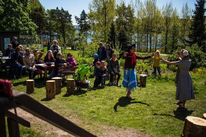 syötävä puisto kulttuurikahvila