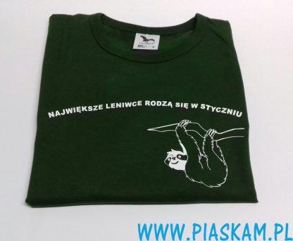 koszulka największe leniwce rodzą się w styczniu