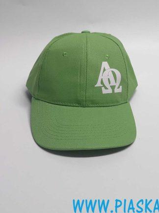 czapka nadruk alfa omega