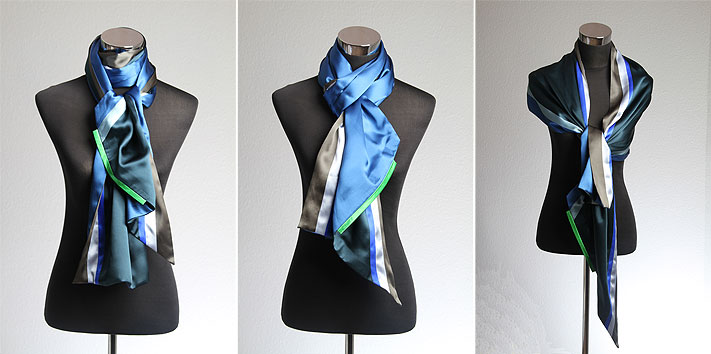 How to wear a scarf