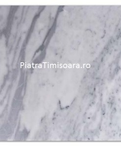 Placaj marmura White Sky-polisata-cross cut