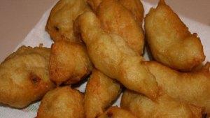 crispelle con acciughe - antipasti siciliani