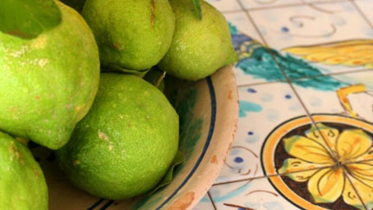 Limone Verdello: curiosità e rosolio