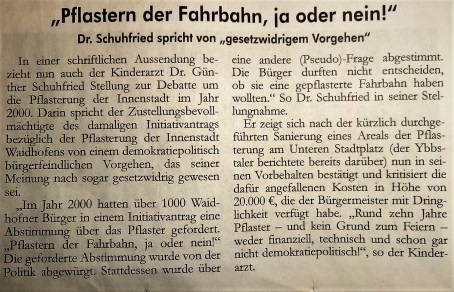 pflaster-schuhfried-leserbrief-ybbstaler