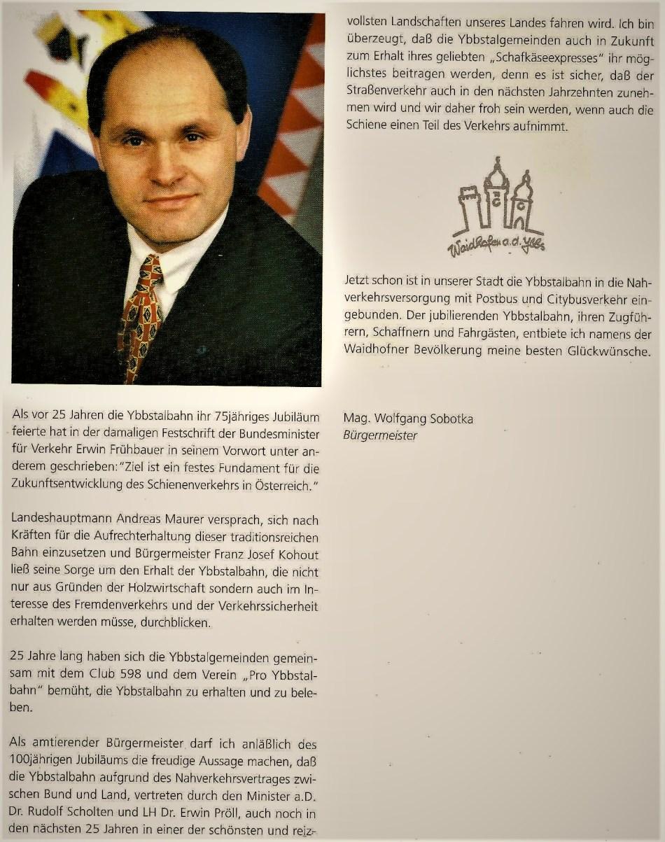 100 Jahre YTB Aussage Sobotka 1998 v