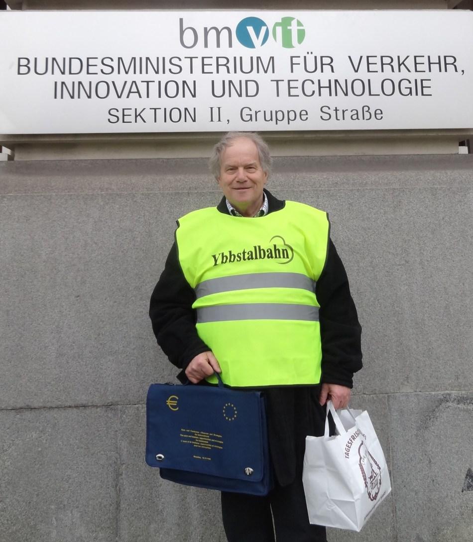 Wientag Ybbstalbahn Verkehrsministerium Wuchteln un E-Mobilität
