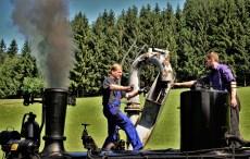 Dampflok Wassertanken