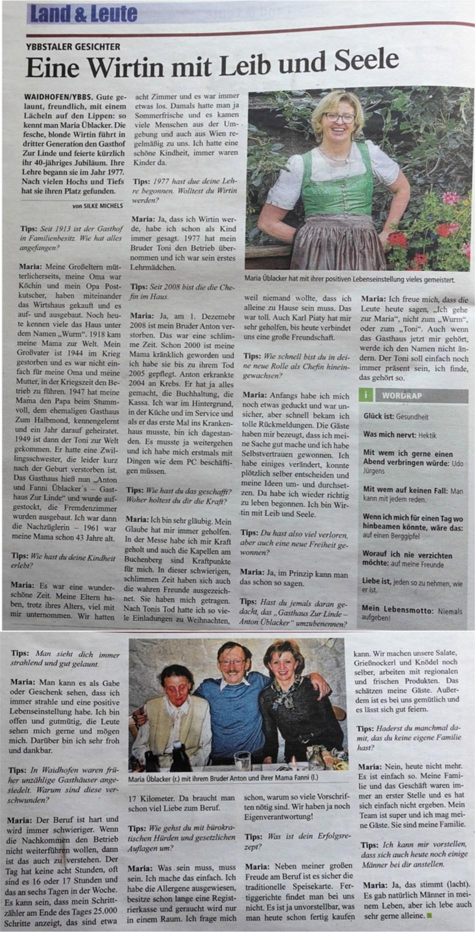 Tips 2 Maria Üblacker gesamt Interview August 2017