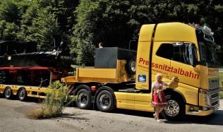 LKW und Lok 2 mittel Preßnitzbahn renate wachauer