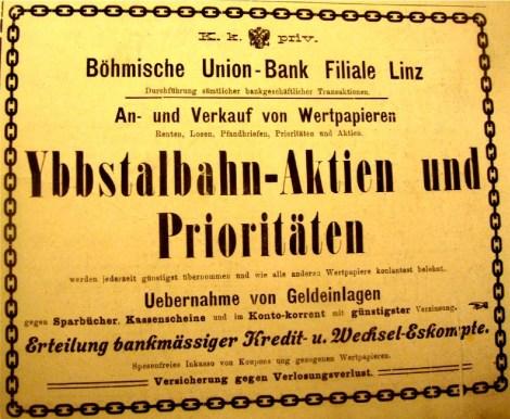 Ybbstalbahn Aktien Eisenbahnmuseum Ybbsitz
