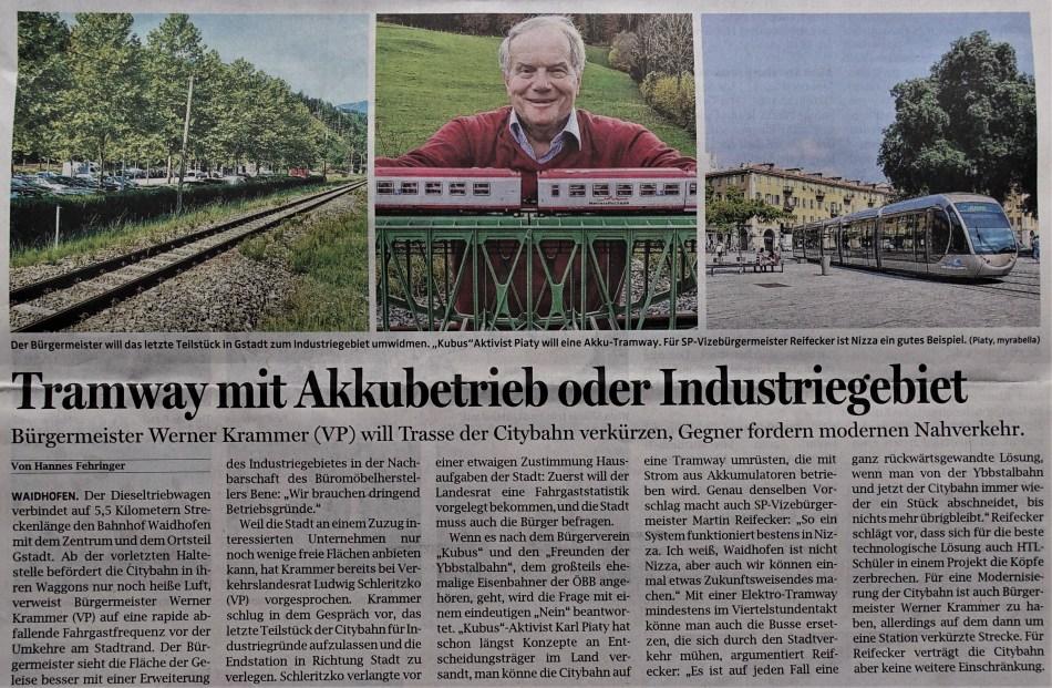 OÖN Eisenbahn 5.9.2018 AKKU