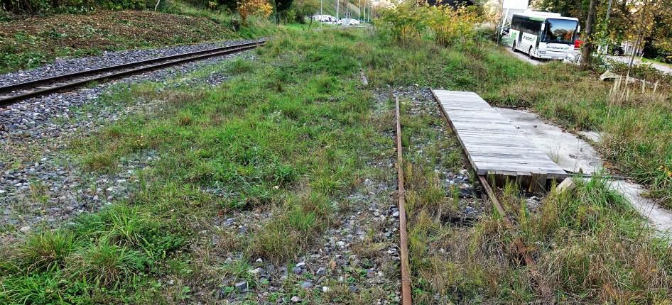 Lokaöbahnhof - Platz des ehemalugen Lokschuppen für Yv.2 1