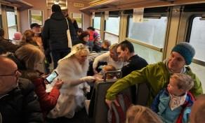 Christkindlzug 2018 im Zug