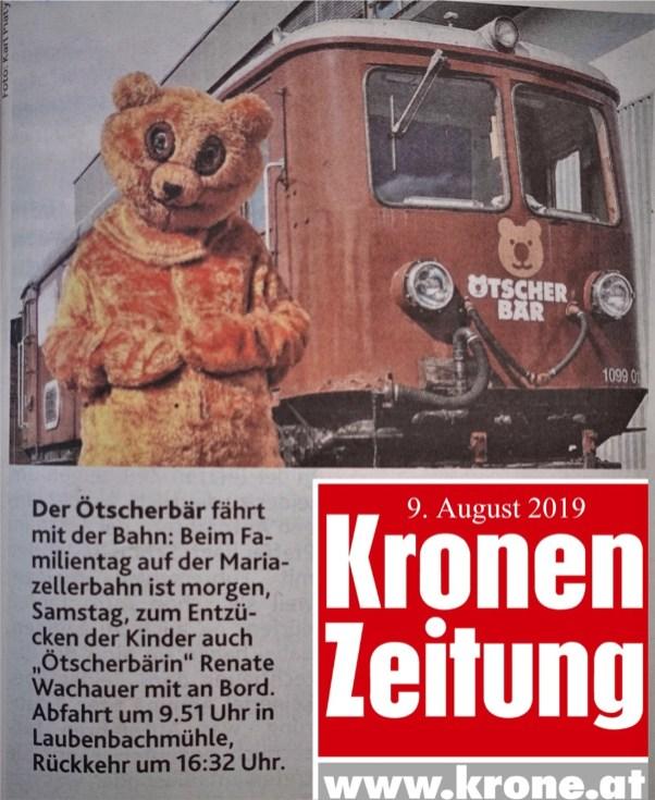 Krone Ötscherbär 9.8.2019