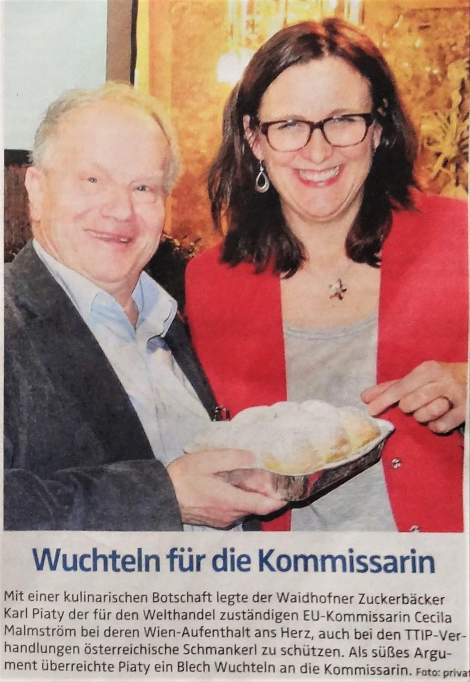 O.Ö.N. 22. 1. 2015 Wuchteln für EU Kommissarin Malmström (2)