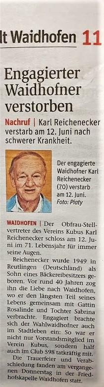 Reichenecker NÖN 24.6.2020